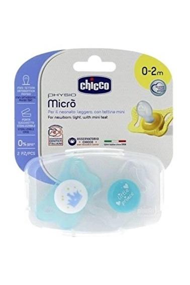 Chicco Physio Micro Yenidoğan Silikon Emzik 2Li Pembe
